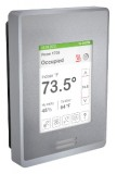 Schneider Electric SE8350U0B00 - Low-Voltage Fan Coil Room Controller & Zone Controller: BACnet MS/TP, RH sensor & control, Silver Case/Fascia